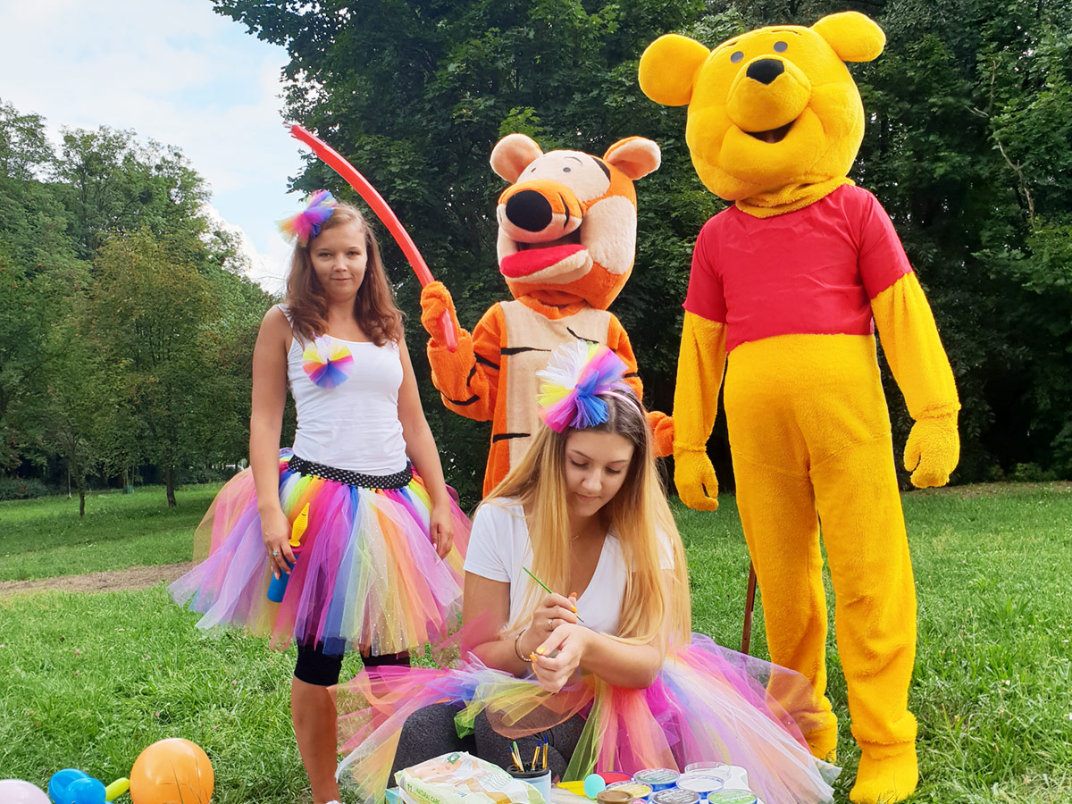 Karuzela Atrakcji - Duże maskotki - Urodziny dla dzieci - Animator dla dzieci