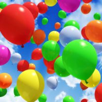 Balony z helem Łódź