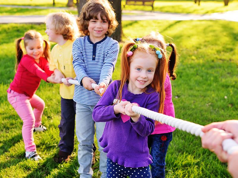 Spotkania integracyjne dla dzieci - Karuzela Atrakcji